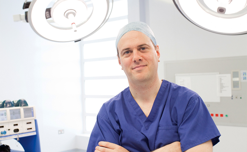 Mr Myles Smith Cancer Surgeon London