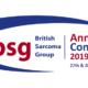 Sarcoma Presentation at the British Sarcoma Group Conference